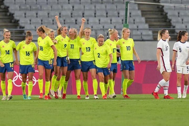 Tuyển Mỹ bất ngờ thua thảm nữ Thụy Điển - Báo VietnamNet