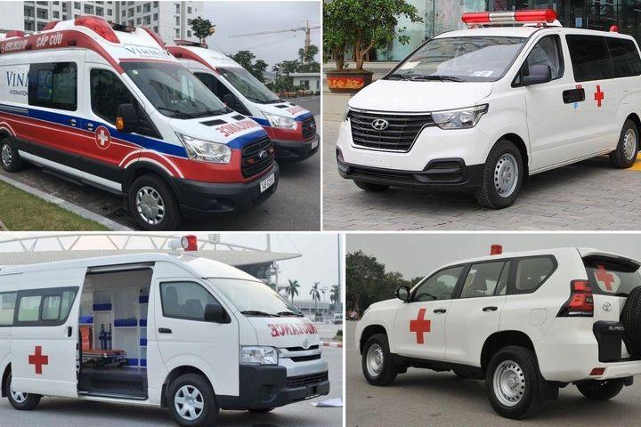 Những mẫu xe cứu thương phổ biến ở Việt Nam, đắt nhất giá 4,2 tỷ đồng - Báo VietnamNet