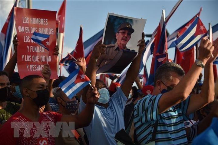 Các nước Phong trào Không liên kết tại LHQ ủng hộ nhân dân Cuba - Báo VietnamPlus