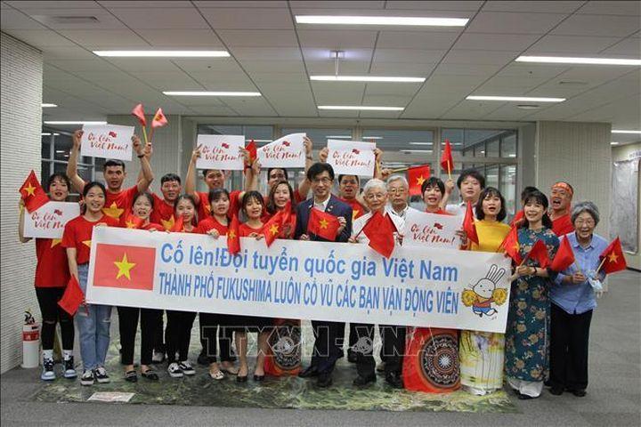 Thị trưởng và người dân Fukushima 'tiếp lửa' cho đoàn Thể thao Việt Nam - Báo Tin Tức TTXVN