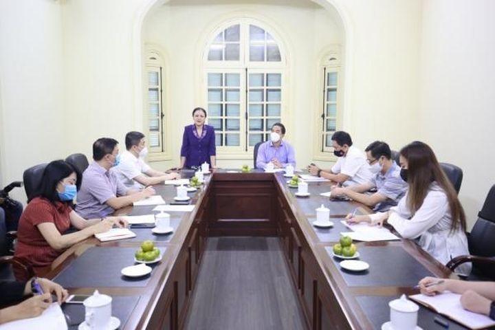 Thứ trưởng Bộ Ngoại giao Tô Anh Dũng thăm và làm việc với Liên hiệp Hữu nghị - Tạp chí Thời Đại