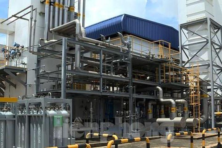Cận cảnh nhà máy sản xuất oxy y tế 'khổng lồ' phục vụ bệnh viện điều trị COVID-19 - Báo Tiền Phong