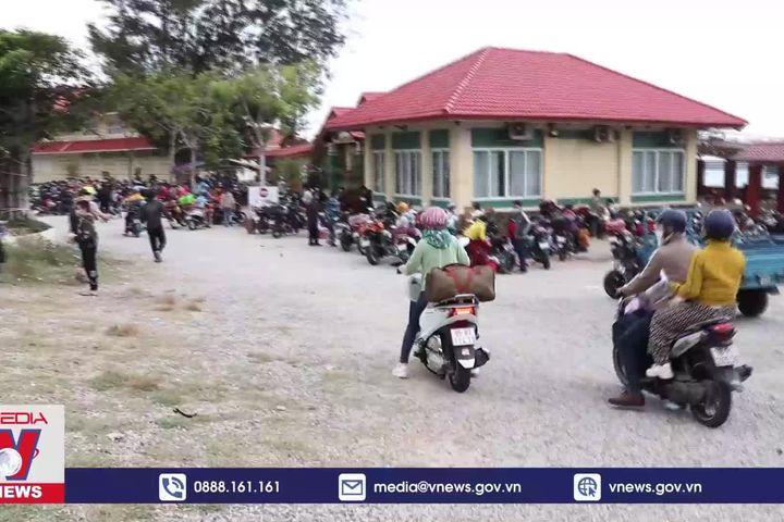 Ninh Thuận đón công dân trở về từ Đồng Nai - Truyền Hình Thông Tấn