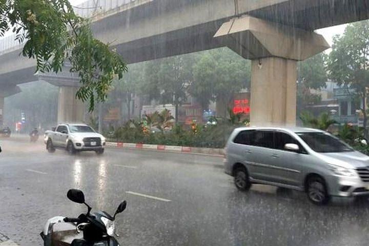 Hà Nội có mưa rào và dông, gió giật mạnh - Báo Đại Đoàn Kết