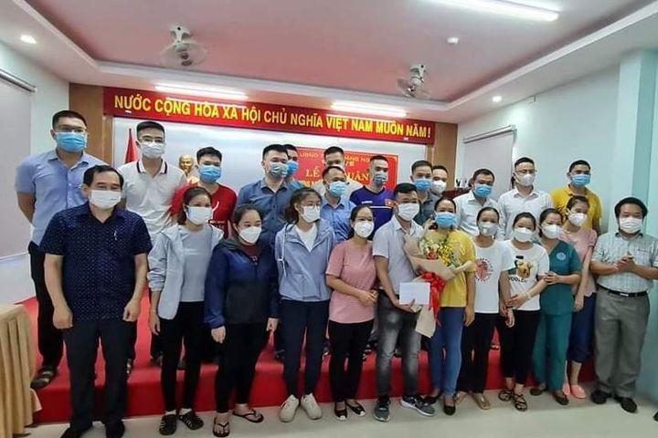 Đoàn y bác sĩ Quảng Ngãi hỗ trợ Bình Dương chống COVID-19 - Báo Chính Phủ