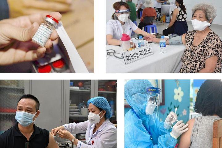 150.000 ca mắc Covid-19 và chiến dịch tăng tốc tiêm chủng của Việt Nam - Báo Nhân Dân