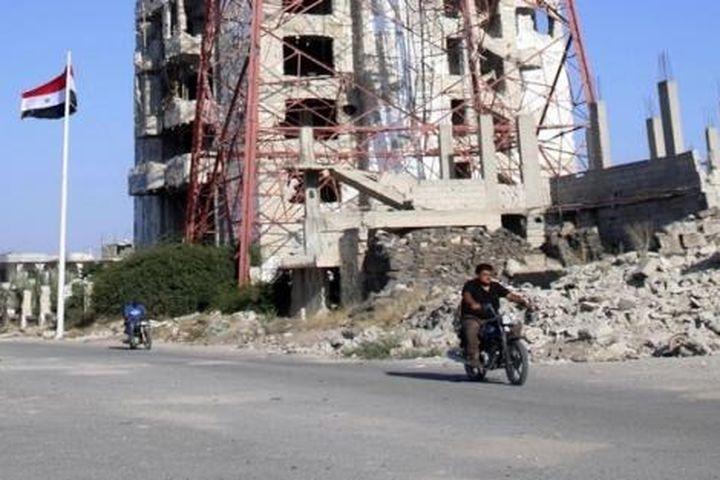 Syria đạt được thỏa thuận ngừng bắn ở tỉnh Daraa - Báo Thế Giới & Việt Nam