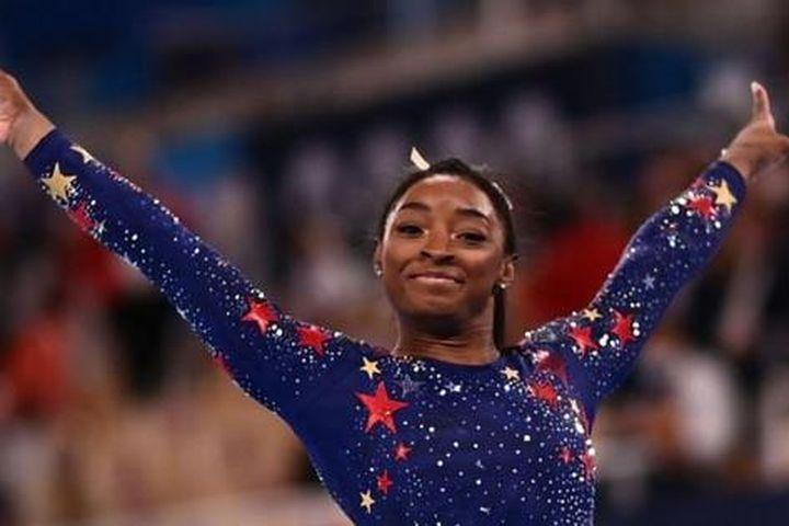 Siêu sao thể dục dụng cụ Simone Biles muốn trở lại tranh tài ở Olympic Tokyo - Báo Tiền Phong