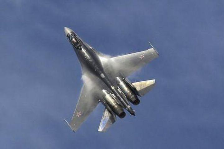 Tiêm kích Su-35 Nga lao xuống biển - Báo Tiền Phong