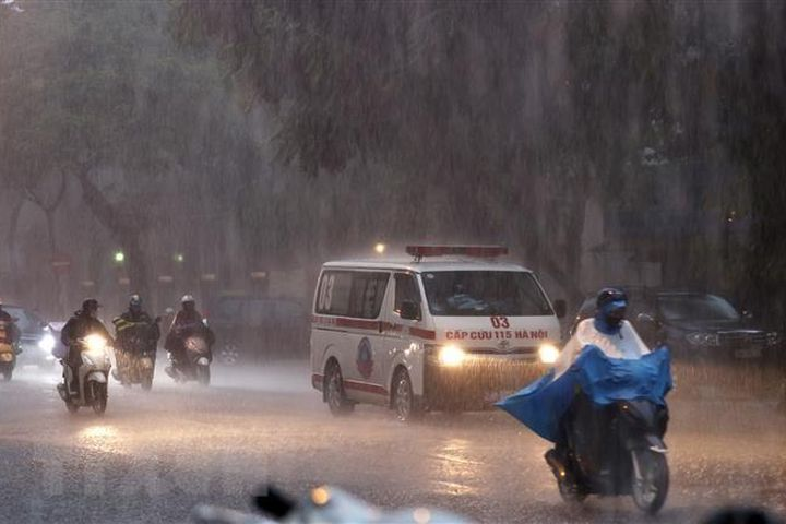Bắc Bộ có mưa to, Trung Bộ, Tây Nguyên và Nam Bộ ngày nắng - Báo VietnamPlus