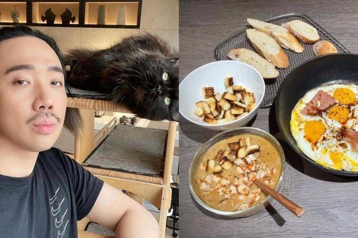 Ngỡ ngàng với tài nấu ăn của Trấn Thành, hỏi sao Hari Won mê mẩn - SaoStar
