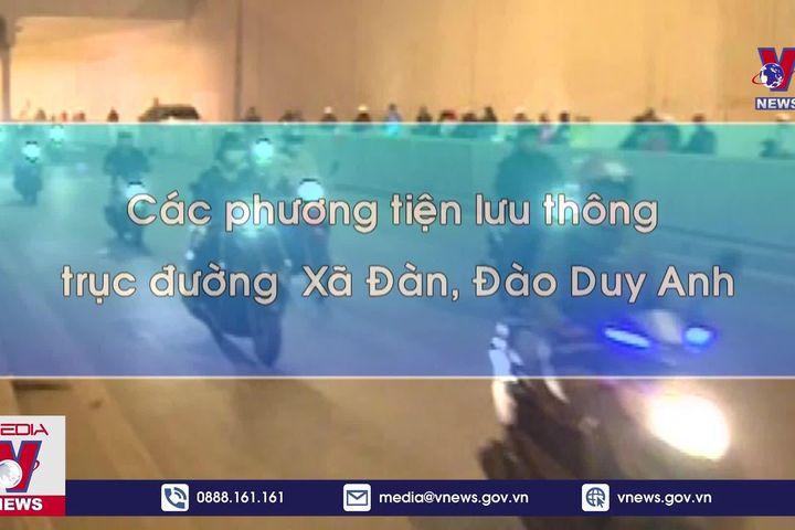 Cấm xe qua hầm Kim Liên 30 ngày để sửa chữa - Truyền Hình Thông Tấn