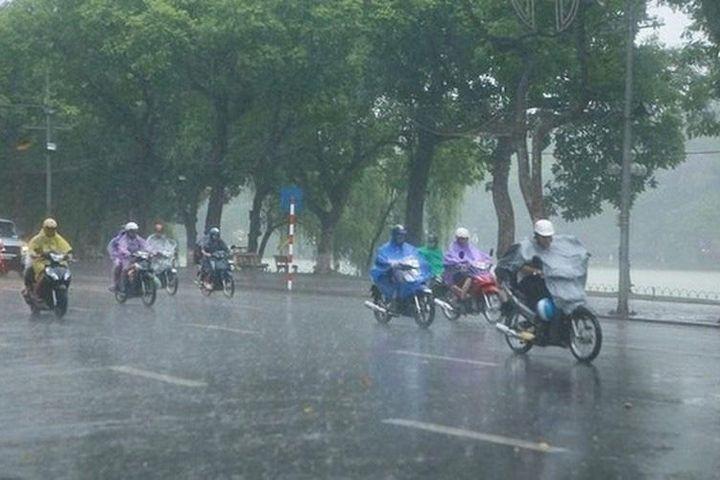 Dự báo thời tiết ngày 1/8: Nhiều nơi ở miền Bắc có mưa dông - Báo Dân Sinh