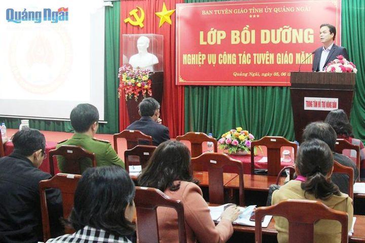 Đổi mới công tác tuyên truyền để đáp ứng yêu cầu trong tình hình mới - Báo Quảng Ngãi