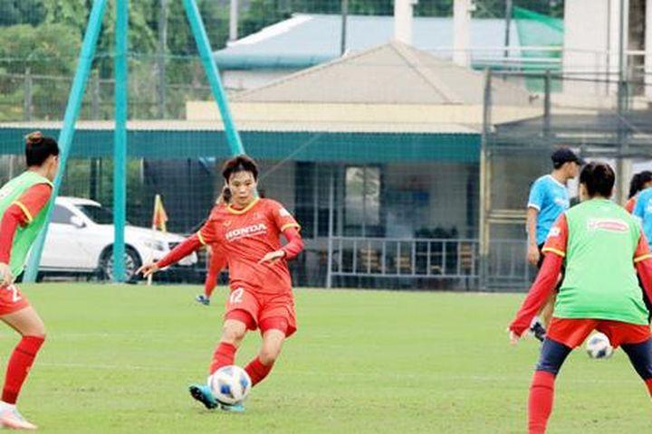 Tuyển nữ Việt Nam công bố danh sách 23 cầu thủ đi thi đấu tại Tajikistan - Báo Tổ Quốc