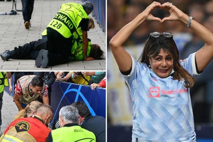 Người phụ nữ may mắn sau cú sút chệch mục tiêu của Ronaldo - Báo Pháp Luật TP.HCM