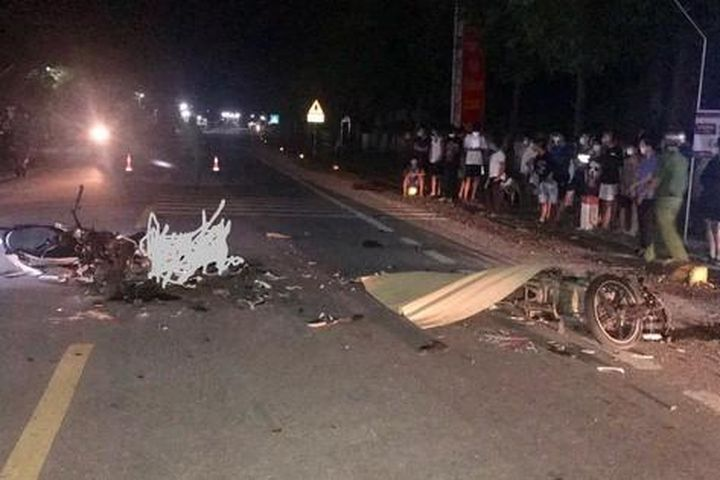 2 người chết, 1 trọng thương sau cú va chạm giữa 2 xe máy - Báo Người Lao Động