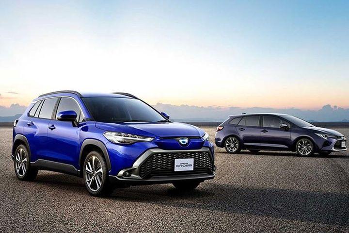 Toyota Corolla Cross 2021 chỉ từ 412 triệu đồng tại Nhật Bản - Báo Tri Thức & Cuộc Sống