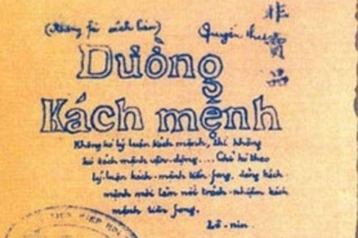 Tác phẩm Đường Kách mệnh của Chủ tịch Hồ Chí Minh (kỳ 3) - Báo VietnamNet