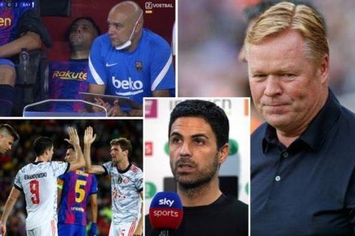 Barca trở thành 'Arsenal tại La Liga' sau thảm bại trước Bayern - Báo VietnamNet