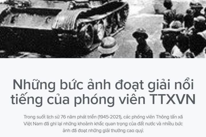Những bức ảnh nổi tiếng của phóng viên TTXVN - Báo VietnamPlus