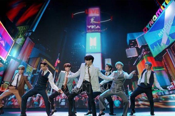 Nhóm nhạc BTS được bổ nhiệm làm đặc phái viên của Tổng thống Hàn Quốc - Báo Tin Tức TTXVN