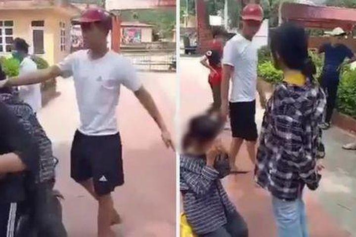 Thanh Hóa: Điều tra vụ án nữ sinh cấp 2 bị đánh, bắt quỳ gối giữa sân trường - Pháp Luật Plus