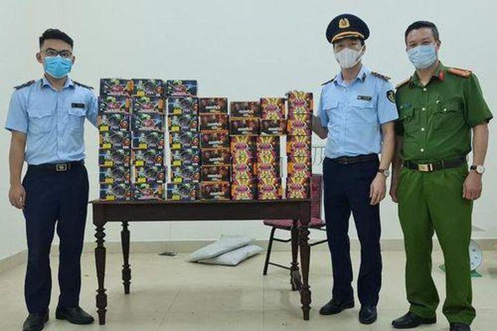 Nghệ An: Bắt vụ vận chuyển 71 kg pháo nổ do nước ngoài sản xuất - Pháp Luật Plus