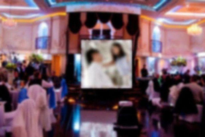 Phim 'mát mẻ' bị chiếu xen lẫn ảnh cô dâu chú rể tại đám cưới khiến khách mời 'ngượng chín mặt' - SaoStar