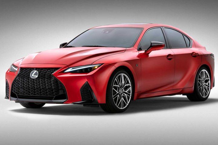 Lexus IS 500 F Sport Performance 2022 chốt giá từ 1,28 tỷ VNĐ - Cartimes