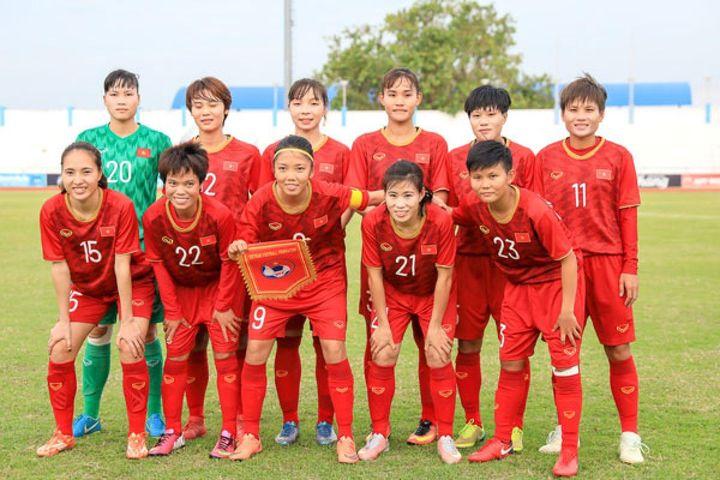 ĐT nữ Việt Nam chốt danh sách tham dự vòng loại Asian Cup 2022 - Báo VOV