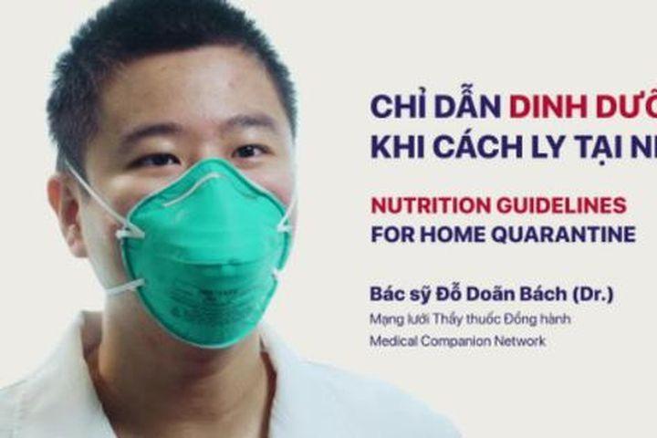 Video chỉ dẫn dinh dưỡng cho F0, F1 tại nhà - Báo Sức Khỏe & Đời Sống