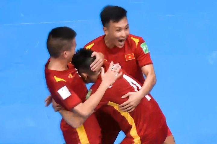 Việt Nam VS CH Czech - futsal World Cup 2021