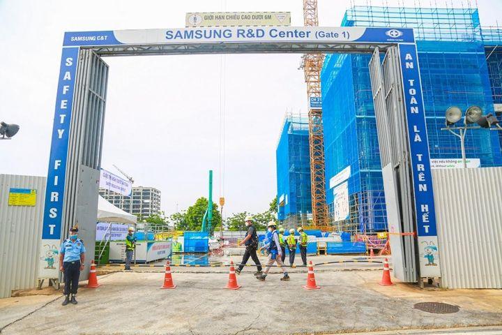 Trung tâm R&D mới của Samsung hoàn thành 50% tiến độ xây dựng - Báo VOV