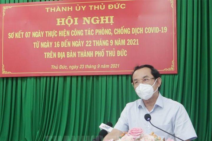 Bí thư Nguyễn Văn Nên: Phải từng bước mở dần, không thể tiếp tục giãn cách - Báo VTC News
