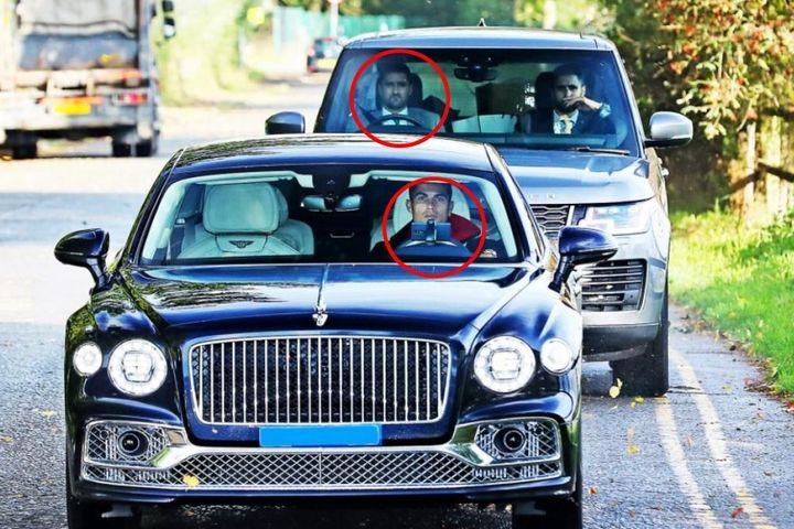 Vì sao Ronaldo được chạy xe có vô lăng bên trái ở Anh? - Báo An Ninh Thủ Đô