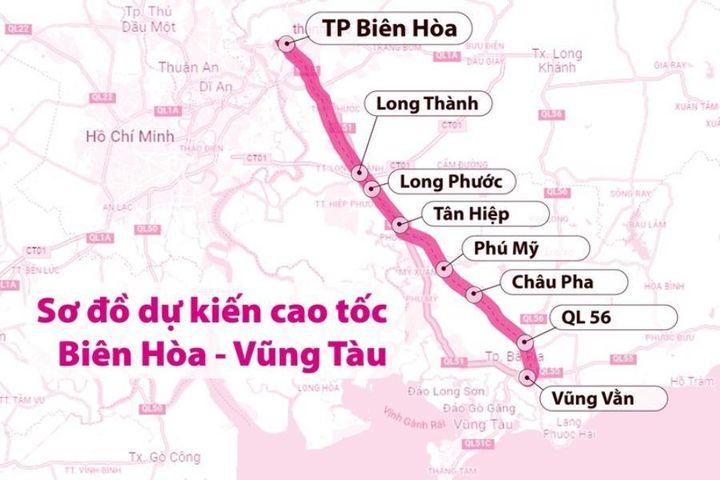 Thủ tướng phê duyệt chủ trương đầu tư cao tốc Biên Hòa - Vũng Tàu - Báo Pháp Luật TP.HCM