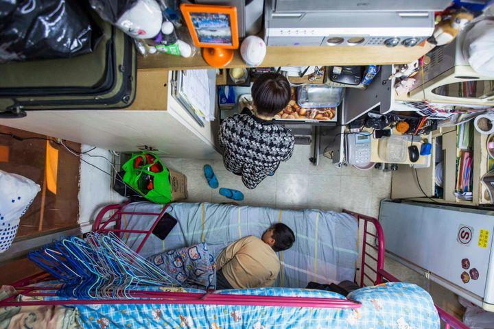 Căn hộ chỉ bằng 2 chiếc giường được xây dựng ở Hong Kong - Zing - Tri thức trực tuyến