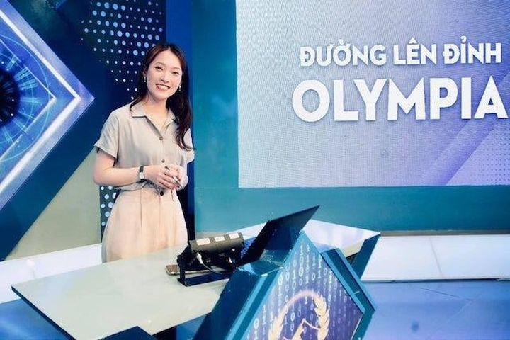 Hot girl '7 thứ tiếng' làm MC Đường lên đỉnh Olympia - Báo Kinh Tế Đô Thị