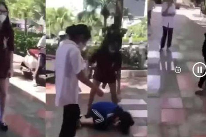 Nữ sinh cấp 2 Hải Phòng bị đánh hội đồng - Báo Pháp Luật Việt Nam