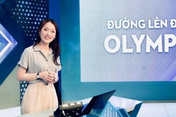 Khánh Vy 'nói 7 ngoại ngữ' thay Diệp Chi làm MC 'Đường lên đỉnh Olympia' - Báo Tiền Phong
