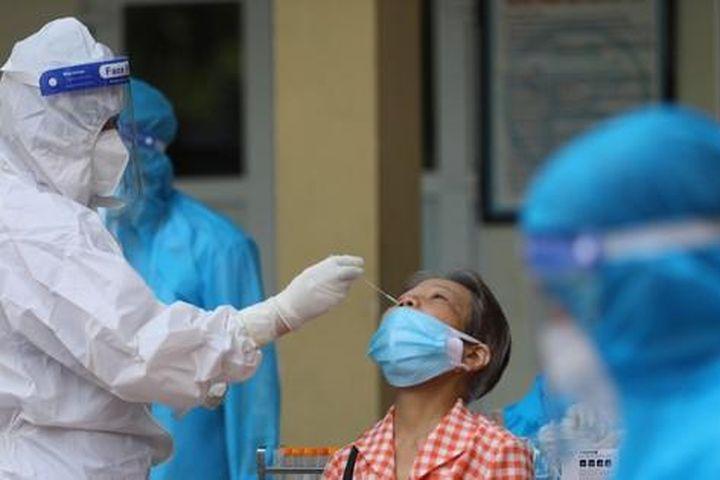 Hà Nội thêm 4 ca mắc mới COVID-19, trong đó 1 trường hợp tại ổ dịch cũ quận Hai Bà Trưng - Báo Tiền Phong