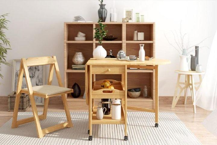 Mẫu bàn ăn thông minh siêu gọn cho căn hộ nhỏ nhìn muốn 'chạy ngay đi mua' - Báo VietnamNet