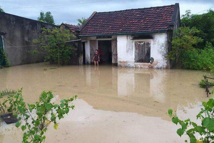 Mưa lớn gây thiệt hại nặng tại Quỳnh Lưu - Báo Nghệ An