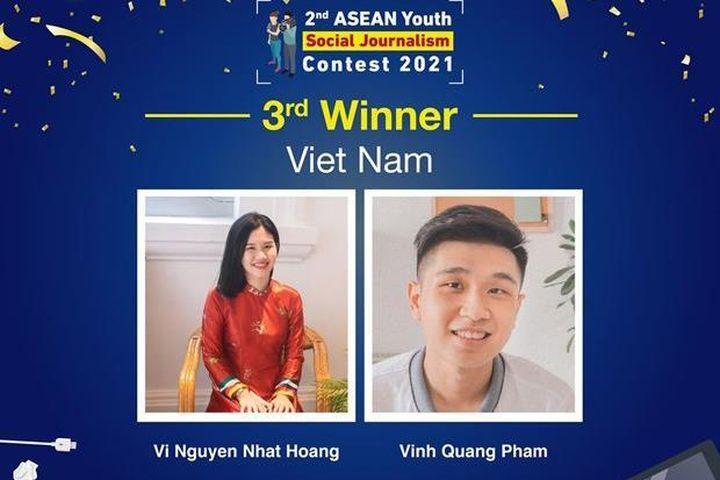 Sinh viên Việt Nam đoạt giải ASEAN với ý tưởng giảm rác thải nhựa - Báo VietnamPlus