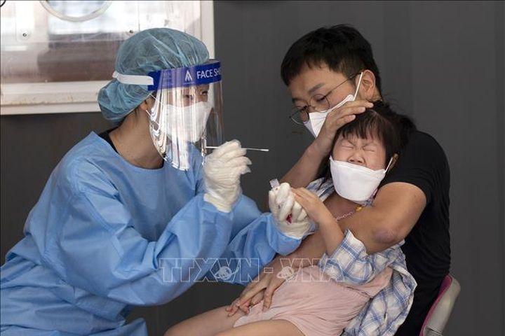 Hàn Quốc ghi nhận số ca mắc COVID-19 cao nhất từ trước đến nay - Báo Tin Tức TTXVN