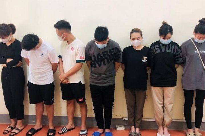 Lạng Sơn: 12 'nam thanh nữ tú' đang bay lắc trong khách sạn White-Hotel thì bị bắt - Pháp Luật Plus