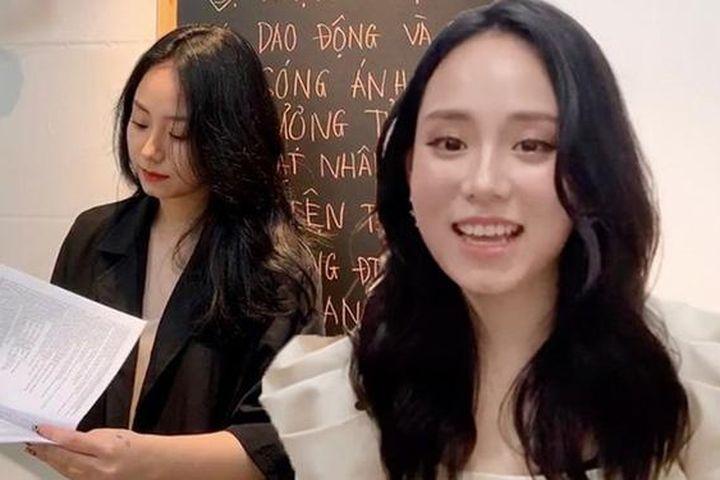 Cô giáo Minh Thu ghi điểm nhờ những bộ cánh nhìn là mê - Báo Phụ Nữ Việt Nam