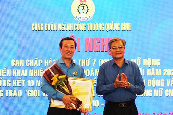 Lan tỏa điển hình đoàn viên công đoàn thi đua làm theo lời Bác - Quảng Bình