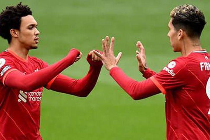 Alexander-Arnold và Firmino trở lại ở trận Brentford vs Liverpool - Báo Quảng Ninh